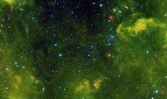 Asteroid Tracks Among the Stars. Image credit: NASA/JPL-Caltech/UCLA