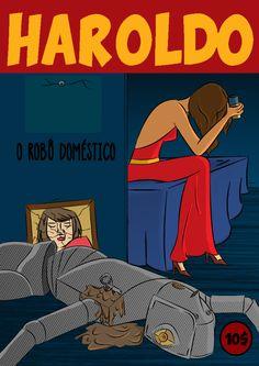 Haroldo, o robô doméstico by Rafael Mota