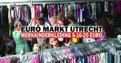 Tientjesmarkt Utrecht, Merkkinderkleding va 5 euro -- Utrecht -- 27/10-29/10