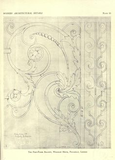 Modern architectural details; a portfolio of ei...