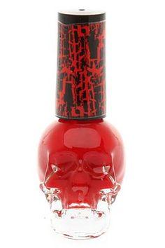 crackle nail polish. Love the bottle