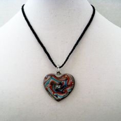 Adjustable Braided Cord Necklace with Red by InnateExpressions, $25.00