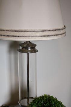 10 Minute Lamp Makeover for $2 www.soiledrotten.blogspot.com