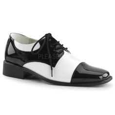 8bc1042149bc7b Funtasma - DISCO-18 - Black-White Patent - Men s Shoes