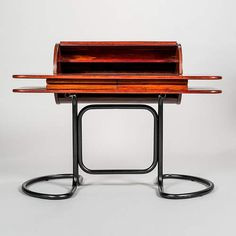 1960s Writing Desk with Tambour Document Holder by Giotto Stoppino - Giotto Stoppino -