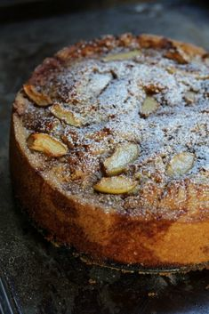 Italian Vegan Apple Cake