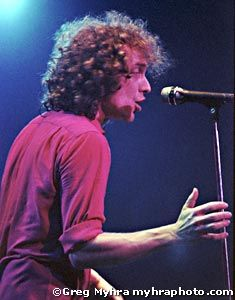 Concert Photos by Greg Myhra - Foreigner - Lou Gramm