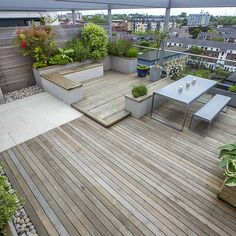 A rooftop garden can be a ton heavier than you believe. With some advice and tricks, the roof terrace becomes a true paradise! Because the roof terrace needs a totally different design than the balcony, you truly require a small… Continue Reading → Pergola Shade Diy, Rustic Pergola, Green Roof, Terrace Garden Design, Outdoor Space Design, Roof Terrace Design, Roof Garden Design