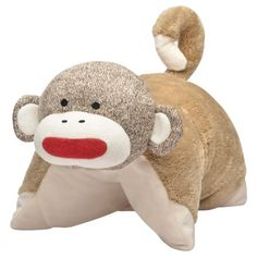 c4862034c39 Sock Monkey Pillow Buddy - Sock Monkey Collection.  tempting...  Animal
