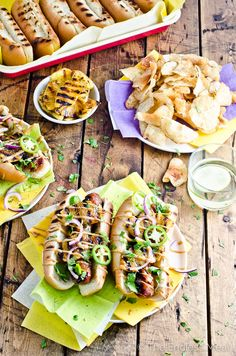 Hawaiian Hot Dogs with Grilled Pineapple and Teriyaki Mayo are crazy delicious and make the perfect summer dinner recipe. Plus, they can easily be made vegan + gluten-free! | theendlessmeal.com