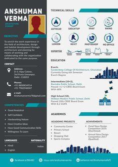 Graphic Design Resume, Cv Design, Resume Design Template, Resume Templates, Cv Template, Design Ideas, Portfolio Web, Portfolio Resume, Portfolio Design