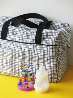 DIY / Tuto - Sac à langer ou sac week-end / Diaper bag, nursing bag or weekend…