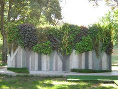 Verde Profilo Vertical Garden @ Museo Triennale Milano #verdeprofilo #vertical #garden #green #wall #nature