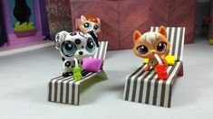 Easy DIY Custom LPS Doll Accessories: How to Make a Tiny Deck Chair for ...