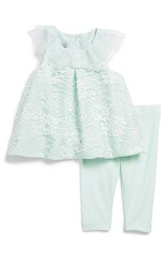Sweet lace dress & leggings for babies http://rstyle.me/n/grhrznyg6