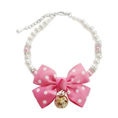 Little Bow Bell Necklace With Rhinestone Pet Dog Cat Collar http://nicedogcollar.com/store/beaded-dog-collars/little-bow-bell-necklace-with-rhinestone-pet-dog-cat-collar-777700003211127/