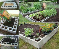 Good idea for raised garden beds.
