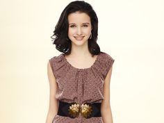 I'm digging this top/belt combo. (Photo from ABC Family show Bunheads.)