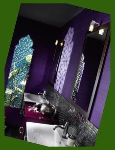 Modern Moroccan Bathroom Furniture and Inspiration from Delpha Moroccan Bathroom, Moroccan Tiles, Modern Moroccan, Moroccan Design, Wallpaper Shops, Bathroom Styling, Bathroom Furniture, Style Ideas, Sink