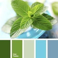 Resultado de imagen para greenery color palette
