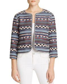 Greylin Geo Stripe Jacquard Jacket - Compare at $150