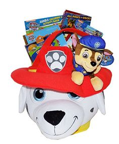 The Ultimate Jumbo Nickelodeon Paw Patrol Gift Basket - Perfect for Easter, Christmas, Birthdays, Get Well, or Other Occasion! Artistix Designs Gift Baskets http://www.amazon.com/dp/B00UCA7S80/ref=cm_sw_r_pi_dp_c2O.ub1FWWFHT