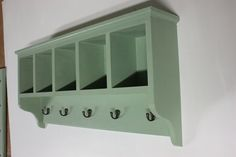 Victorian style hallway coat rack with storage compartments. £140.00, via Etsy.