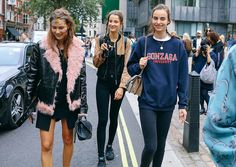 Moving on from NYFW, head to London as fashion week continues. See some of our fave streetstyle from off-duty models to bloggers, fashion editors.