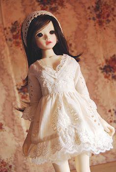 cream puff dress - msd