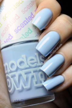 Models Own - Blueberry Muffin   Eeeek Nail Polish