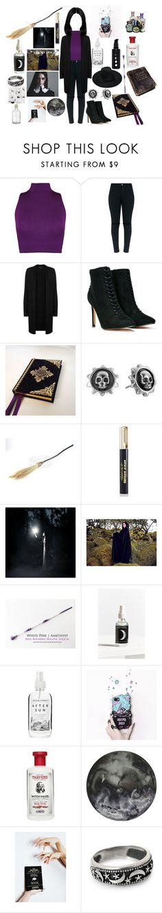 """Emily Kelvanion~~"" by gaaaaalaxy ❤ liked on Polyvore featuring WearAll, Eileen Fisher, Nasty Gal, King Baby Studio, Medusa's Makeup, Cosmos, Herbivore, Thayers and NOVICA"
