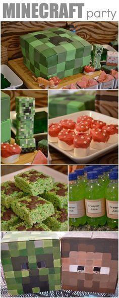 minecraft birthday ideas | Minecraft Birthday Party Ideas
