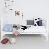 CHILDREN'S LUXURY JUNIOR BED in White by Oliver Furniture - available at Cuckooland.com
