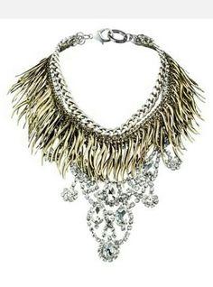 Fenton Resort 2014 l Cynthia Reccord statement necklace