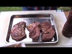 Co jste nevěděli o grilování, díl 1: Krkovičku nesolit a neklepat - YouTube New Recipes, Beef, Youtube, Food, Meat, Essen, Meals, Youtubers, Yemek