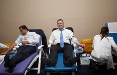 Mr. Ivo Tzvetkov, our Cluster Director of Operations at Flora Hospitality, and Mr. Tejas  Halbe the Front Office Manager at the Flora Creek, happy to participate and donate blood for the cause.