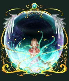 「ホーリー」/「踊夜竜(ゆや)」のイラスト [pixiv] Final Fantasy VII