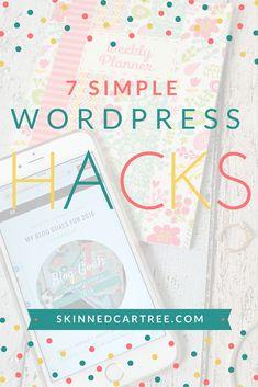 7 WordPress hacks for your blog
