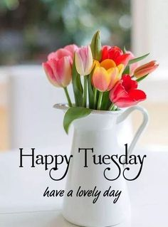 Happy Tuesday...have a lovely day. #Happytuesdayquotes #Positivetuesdayquotes #Tuesdayquotesforwork #Tuesdayworkquotes #Tuesdayquotes #Tuesdaymorningquotes #Tuesdaysayings #Tuesdaypositivequotes #Tuesdaypictures #Tuesdayimages #Tuesdaymorningwishes Goodmorningtuesday #Tuesdaygoodmorningquotes #Goodmorningquotes #Morningquotes #Goodmorningsayings #Morningimages #Morningpictures #Refreshingquotes #Positiveenergy #Inspirationalmorningquotes #Inspirationalquote #Dailyquote #Everydayquote Good Morning Flowers Gif, Good Morning Beautiful People, Good Morning My Love, Good Morning Sunshine, Good Morning Picture, Morning Quotes For Friends, Good Morning Image Quotes, Good Morning Texts, Gd Morning