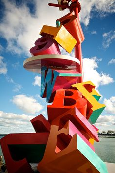 Letters and Numbers by Frozen Canuck, via Flickr  Navy Pier in downtown Chicago
