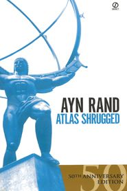 """Graz - Atlas Shrugged by Ayn Rand. """" Atlas shrugged is one of the most influential novels of our time. In it, Rand dramatizes the main tenets of Objectivism, her philosophy of rational selfishness. Ayn Rand, Atlas Shrugged Book, Books To Read, My Books, Mystery Stories, Book Nooks, Great Books, Reading Lists, The Book"""