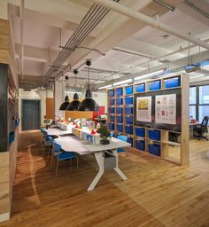 Wouldn't it be great to build a makerspace in a library patterned after this office space at DonorsChoose?