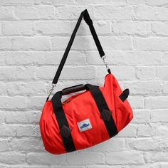 Penfield Irondale Roll Bag Orange £44.99