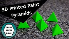 How 3D Print a Paint Pyramid using Fusion 360 and Cura