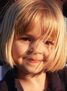 toddler girl hair bob with bangs