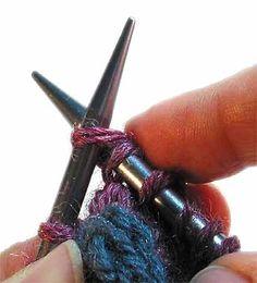 Knitting a Wrapped Stitch