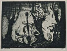 Gustav Meyrink Illustration by Stefan Eggeler Leipzig: Kurt Wolff, 1922