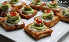 "spicy vegan ""sushi"" tofu bites"