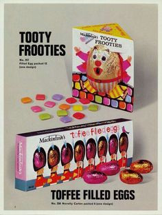 Rowntree Easter Eggs from the and gallery from York Press Old Sweets, Vintage Sweets, Retro Sweets, Retro Food, Vintage Food, Retro Ads, 1980s Childhood, Childhood Days, Nostalgia 70s