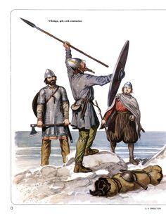 Gerry Embleton Vikings 9th-11th centuries